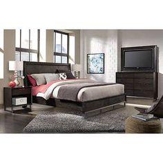 Rivina 6Piece Cal King Bedroom Set  Logan  Pinterest  King Gorgeous Cal King Bedroom Sets Inspiration Design