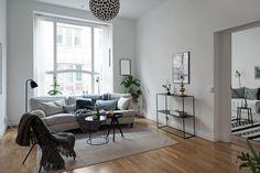 decoración estilo nórdico moderno Mobiliario ligero y sencillo cocina nórdica moderna decoración colores neutros muebles funcionales decoración salón blog decoración nórdica muebles de diseño