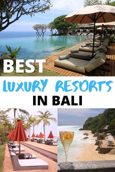 Researching the best Bali resorts & hotels? Our accommodation guide features romantic luxury hotels and family resorts in Kuta, Seminyak, Jimbaran and Ubud. Bali Resort, Resort Spa, Family Resorts, Hotels And Resorts, World Most Beautiful Place, Beautiful Places, Bali Family Holidays, Bali Beach Resorts, Hotel Bedrooms
