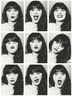 Zoey Deschanel - Love her in New Girl Zooey Deschanel, Pretty People, Beautiful People, Beautiful Pictures, 500 Days Of Summer, Photo Vintage, Poses References, Face Expressions, Foto Art