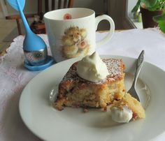 Baking Tins, Baking Soda, Easy Rhubarb Recipes, Picnic Cake, Rhubarb Cake, Recipe Generator, Square Cakes, Sweet Tarts, Cake Recipes