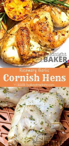 Cornish hens are perfect for the outdoor grill! Cornish hens are perfect for the outdoor grill! Grilled Cornish Hens, Roasted Cornish Hen, Smoked Cornish Hens, Stuffed Cornish Hens, Cooking Cornish Hens, Cornish Game Hen, Grilling Recipes, Cooking Recipes, Healthy Recipes