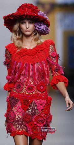 !!! Red Roses !!! ... Francis Montesinos Mercedes-Benz Fashion Week Madrid - Spring Summer 2011
