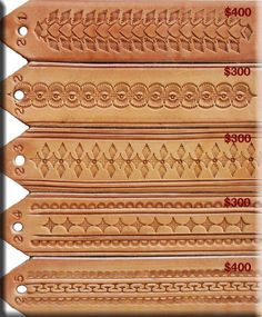 Tooling Leather Pattern images