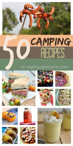 ~50 Camping Recipes