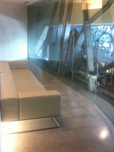 Seating available in the gallery