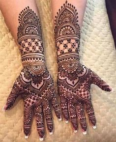 Most Beautiful Henna Designs 2019 Henna Tattoo Designs Arm, Indian Mehndi Designs, Latest Bridal Mehndi Designs, Full Hand Mehndi Designs, Mehndi Designs Book, Modern Mehndi Designs, Mehndi Designs For Beginners, Mehndi Design Photos, Wedding Mehndi Designs