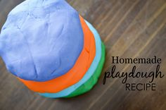 Homemade Playdough R