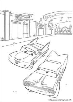 ausmalbilder cars 2 zum drucken kostenlos 10 | basteln mit kids | ausmalbilder, kostenlose