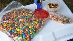 This easy camping trail mix is considered the ideal snack food for hikes, because it is lightweight, easy to store, and nutritious.
