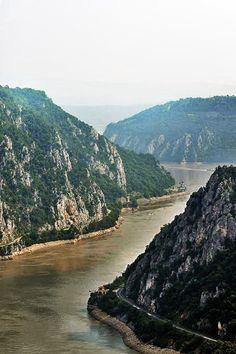"""Orșova, Romania - Danube River """"Cazane"""""""