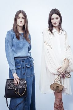 Denim Everything - Long skirts and flared jeans - What Will You Be Wearing This Spring-Summer | The Stylist And The Wardrobe