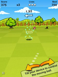 Putt Golf by EivaaGames for iPhone and Android.