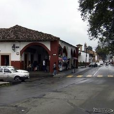 Calle Codallos Portal Salazar Centro histórico Pátzcuaro  #patzcuaro #pueblomagico