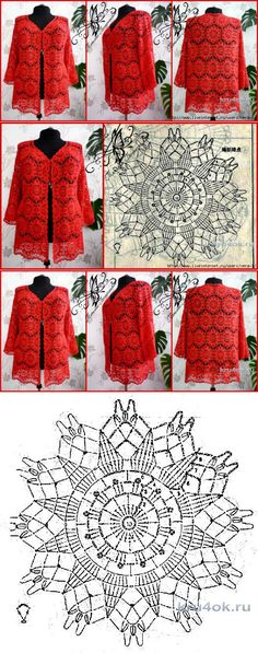 Overview of Crochet So You Can Comprehend Patterns - Crochet Ideas Gilet Crochet, Crochet Coat, Crochet Motifs, Crochet Blocks, Crochet Jacket, Crochet Diagram, Crochet Cardigan, Crochet Scarves, Crochet Clothes