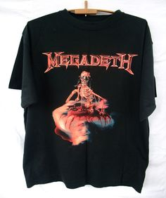 e1721431 2000 Megadeth The World Needs A Hero Global Tour Tee t-shirt Size XL Slayer  Metallica Anthrax Iron Maiden sepultura by on Etsy