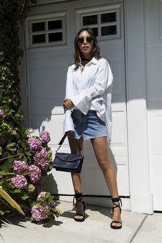 aimee_song_of_style_white_blouse_vetements_denim_skirt_jw_anderson_bag-1