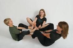 85 best group yoga poses images  partner yoga yoga poses