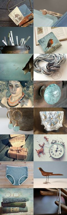 Bold & Beautiful Treasury Collection by Olga on Etsy