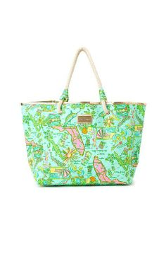 VIDA Tote Bag - La La Lily by VIDA