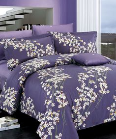 Loving this North Home Freesia Duvet Cover Set on #zulily! #zulilyfinds