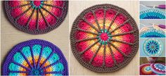How to Crochet Spoke Mandala