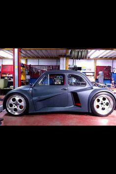 VW Beetle Testarossa