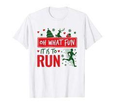 Ugly Sweater Run, Women's Running Shirts, Run Runner, Christmas Tee Shirts, Christmas Runner, Shirt Price, Running Women, Branded T Shirts, Long Sleeve Shirts