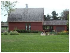I have always wanted to live in a house that looks like a barn!  Find this home on Realtor.com