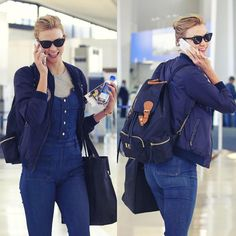 Karlie Kloss FanpageさんはInstagramを利用しています:「3.18.16 - Karlie at Newark Airport, travelling to Las Vegas ✈️」