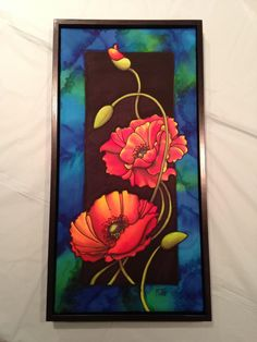How to Frame a Silk Painting (Without Glass)