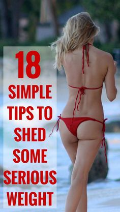Simple tips to shed some serious weight