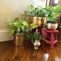 Brass pot design