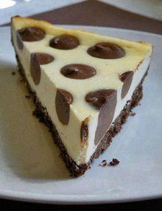 Polka Dot Cheesecake Recipe   my719moms.com