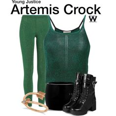 Inspired by character Artemis Crock from the animated series Young Justice.