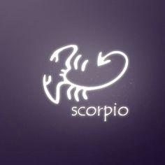 Scorpio tattoo, like the shape of the scorpion