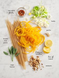butternut squash noodle pasta / loveandlemons.com