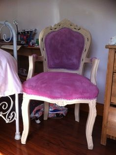 Annie Sloan Chalk Paint colour Henrietta brought this chair to New Life