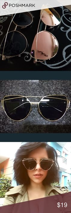 8e33677b31 Just In❗️Black   Gold❗️DoubleBridge Sunglasses Boutique