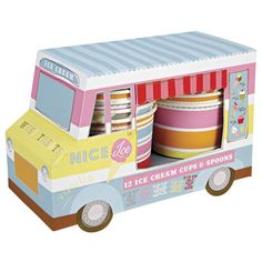 Ice cream cups organizer. Just perfect for my kitchen!