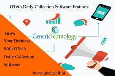 GTech Daily Collection Software Features gtechsoft.in Cloud Based, Mobile Application, Software, Apps, Collection, App, Appliques