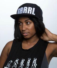 GRRRL+3d+cap