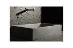 TORRENCE : Vasque en pierre - évier en granit véritable 60x40