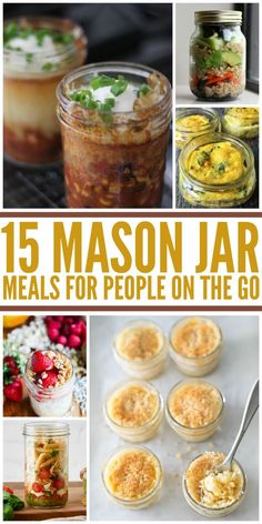 15 Amazing Mason Jar Meals to Eat on the Go - One Crazy House