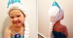 "Holly Christensen's Magic Yarn Project has been creating special ""princess"" wigs for children around the country."
