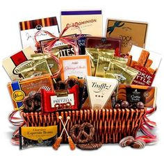 Breakfast Baked Goods & Coffee K Cup Gift Tray - Muffins, Bagels, Tea Bread, Danish and Tea Gift Basket Chocolate Sweets, Chocolate Gifts, Chocolate Coffee, Tea Gifts, Coffee Gifts, Food Gifts, Chocolate Covered Graham Crackers, Chocolate Covered Espresso Beans, Coffee Gift Baskets