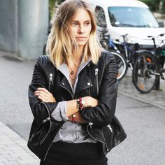 The Fashion Eaters leather jacket