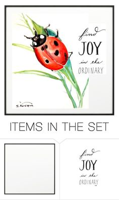 """""""Joy in the ordinary"""" by quicherz ❤ liked on Polyvore featuring art"""