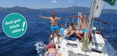 Half Day Sailing trips – escape from the reality (Neos Marmaras) Halkidiki Greece, Sailing Trips, Day