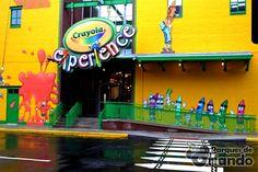 #CrayolaExperience #Orlando2015  Novidades em Orlando para 2015